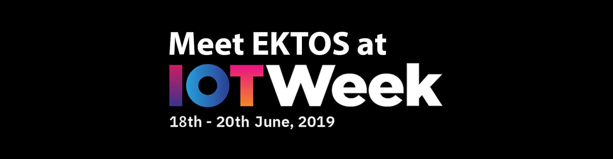 Let's talk IoT! Meet us at IOT Week in Aarhus June 18th-20th