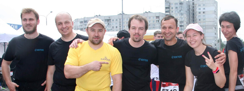 Tjek lige hvor hard-core vores team i Kharkiv er!