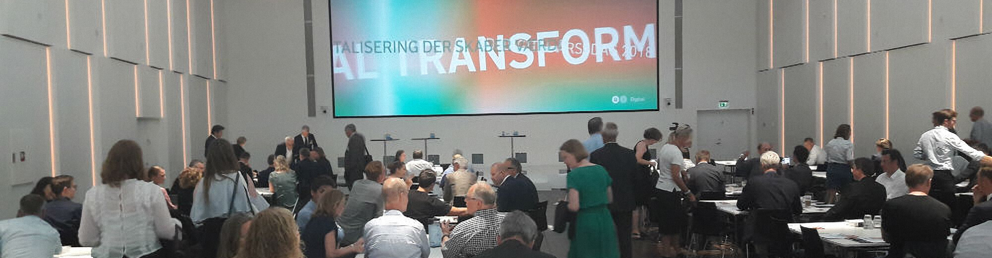 How do we boost the digitization of the public and private sector in Denmark? A recap from the yearly meeting at DI-Digital 2018