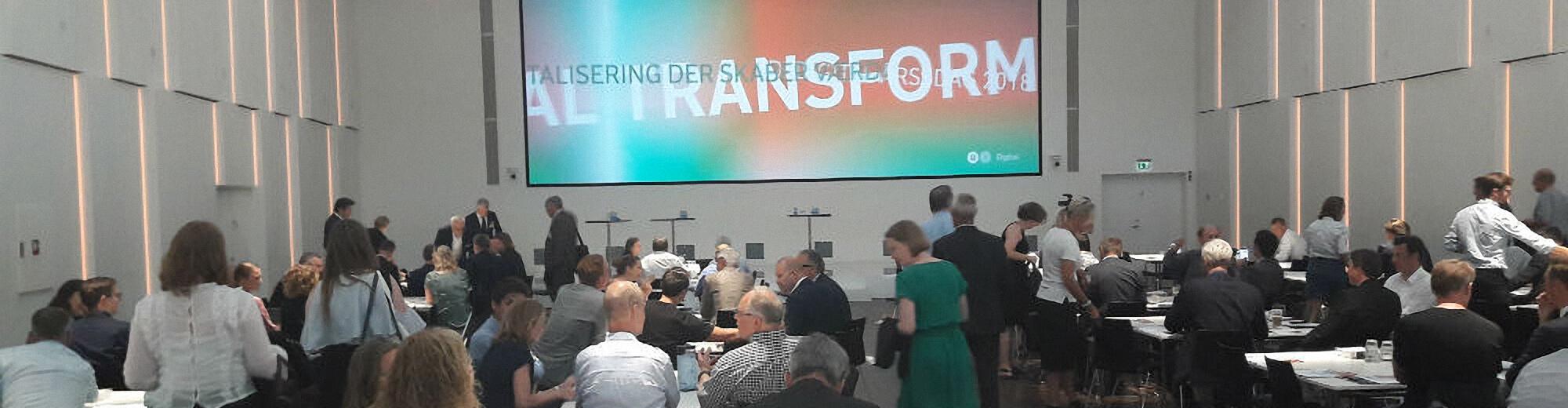 Hvordan booster man digitaliseringen af den private og offentlige sektor i Danmark? Et kort resumé af DI-Digitals årsmøde 2018