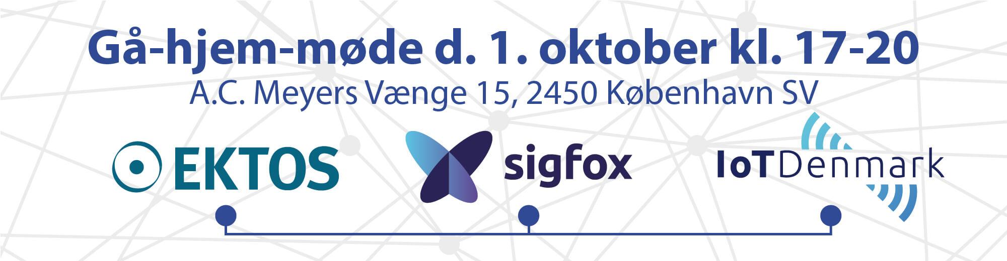 Gå-hjem-møde med Sigfox-eksperter og snacks