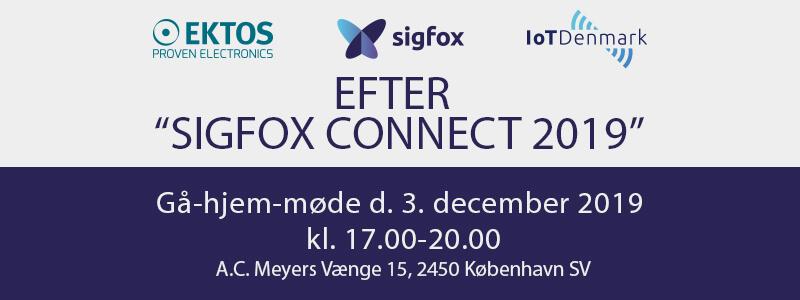 """Gå-hjem-møde """"Efter Sigfox Connect"""" d. 3. december"""