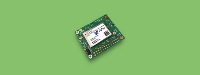 Test your wireless concept with a simple Sigfox starter package