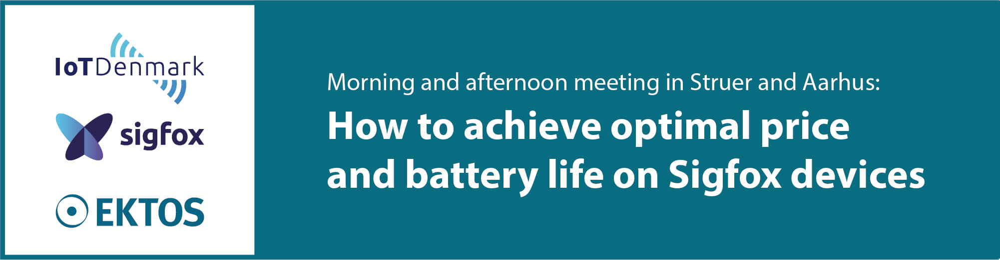 Seminar: How to obtain optimal price and battery life on Sigfox devices