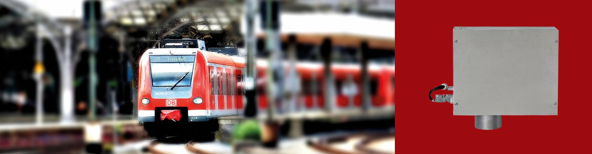 Brugertilpassede håndtørrere til tog