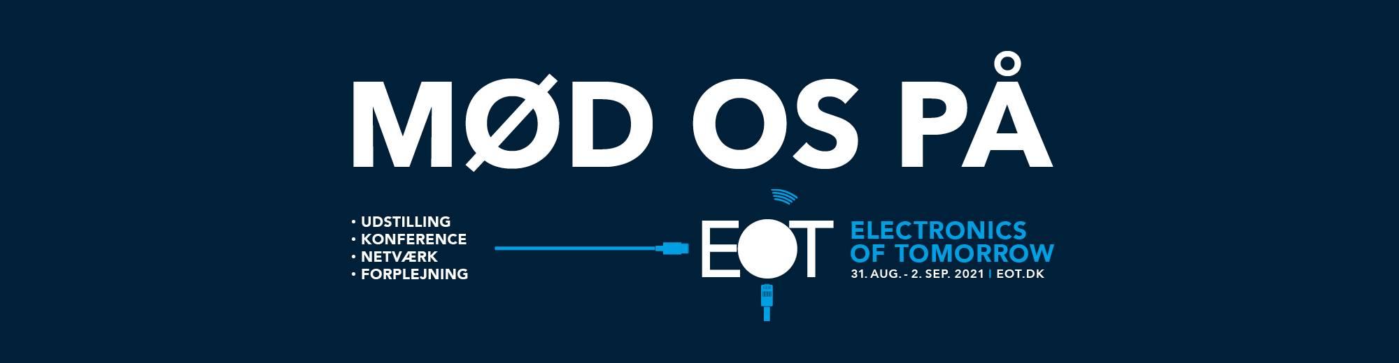 Besøg os på EOT-messen i Herning